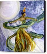 Moonlight Majesty Canvas Print
