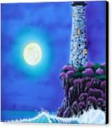 Moonlight Vigil Canvas Print