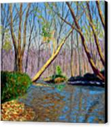 Mooresville November Canvas Print