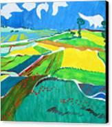 Moravian Landscape Canvas Print