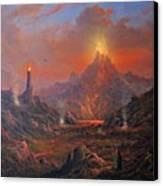 Mordor Land Of Shadow Canvas Print by Joe Gilronan