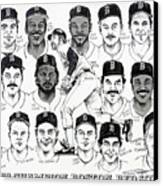 Morgan Magic And The East Championship Newspaper Poster Canvas Print