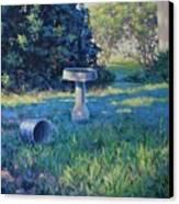 Morning Bathwater Canvas Print