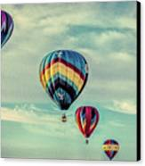 Morning Lift Off  Two Canvas Print
