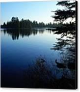 Morning On Chad Lake Canvas Print