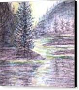 Morning Pine Canvas Print