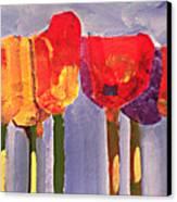 Morning Tulips Canvas Print