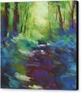 Morning Walk I Canvas Print