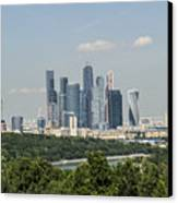 Moscow Skyline Canvas Print by Atul Daimari