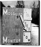 Mosquito Monitor Canvas Print