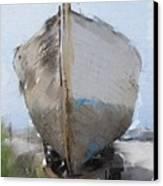 Moss Landing Boat Canvas Print