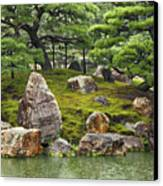 Mossy Japanese Garden Canvas Print