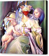 Mother And Child Reunion Canvas Print by Patrick Anthony Pierson