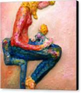 Mother Bonding I Canvas Print