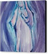 Mother Mary Essence Canvas Print