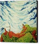Mother Nature Canvas Print by Pralhad Gurung