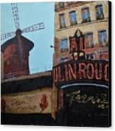 Moulin Rouge Canvas Print