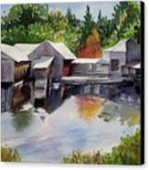 Moulton's Mill Canvas Print