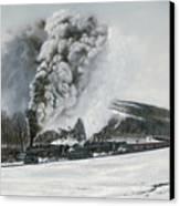 Mount Carmel Eruption Canvas Print