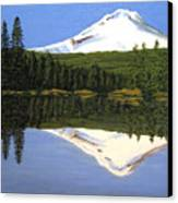 Mount Hood-trillium Lake Canvas Print