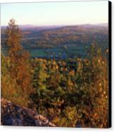 Mount Philo Foliage View Canvas Print