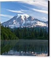 Mount Rainier Reflections Canvas Print by Greg Vaughn - Printscapes
