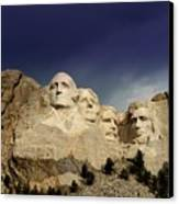 Mount Rushmore Canvas Print by Brent Parks