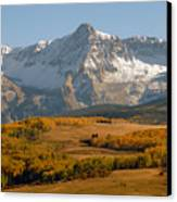 Mount Sneffels Canvas Print