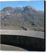 Mount St. Helen Memorial Canvas Print
