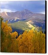 Mountain Fall Canvas Print
