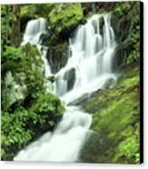 Mountain Falls Canvas Print by Marty Koch