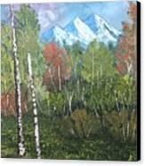 Mountain Meadow Canvas Print