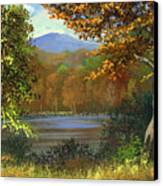 Mountain Pond Canvas Print