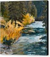 Mountain River Canvas Print by Rita Bentley