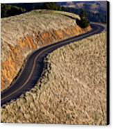 Mountain Road Canvas Print by Garry Gay