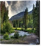 Mountain Stream 4 Canvas Print