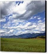 Mountainfarm Canvas Print