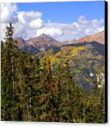 Mountains Aglow Canvas Print