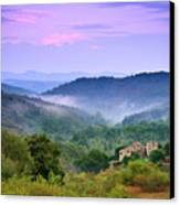 Mountains Canvas Print by Christian Wilt