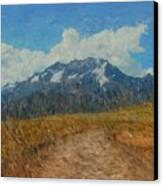 Mountains In Puru Canvas Print