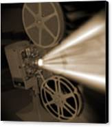 Movie Projector  Canvas Print by Mike McGlothlen