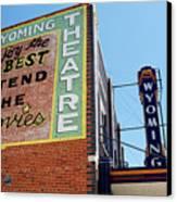 Movie Sign 1 Canvas Print