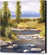 Moyie River Canvas Print