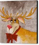 Mr Reindeer Canvas Print