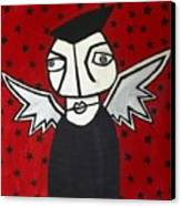 Mr.creepy Canvas Print by Thomas Valentine