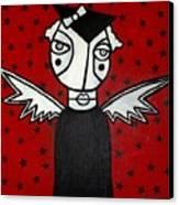 Mrs.creepy Canvas Print by Thomas Valentine