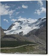 Mt Athabasca Canvas Print by Kenneth Hadlock
