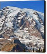 Mt. Rainier In The Fall Canvas Print
