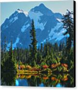 Mt. Shuksan Canvas Print