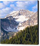 Mt. Timpanogos In The Wasatch Mountains Of Utah Canvas Print